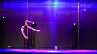 Amelia Szczotarska - II place Juniors - Pole Dance Show 2019
