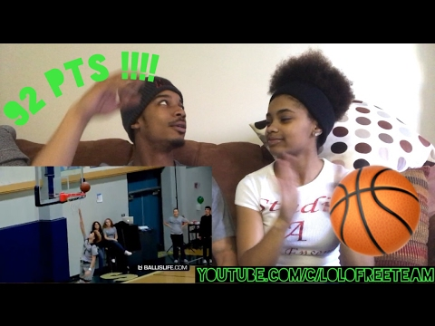 LaMelo Ball Scores 92 POINTS!!!! 41 In The 4th Quarter!!  REACTION |Lolo & Free Team|