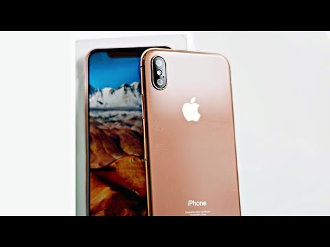 iPhone X Clone Unboxing: Blush Gold!