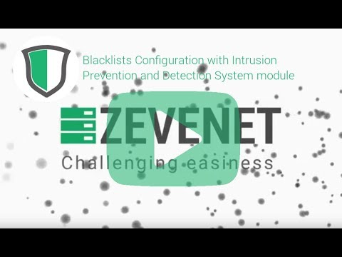 Blacklists Configuration with Intrusion Prevention and Detection module in Zevenet 5