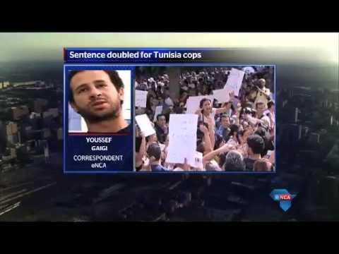 Reaction to Tunisia cop sentences for rape