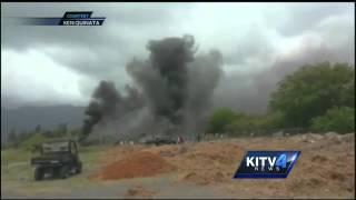 Doctor, rescuers on Bellows Osprey crash