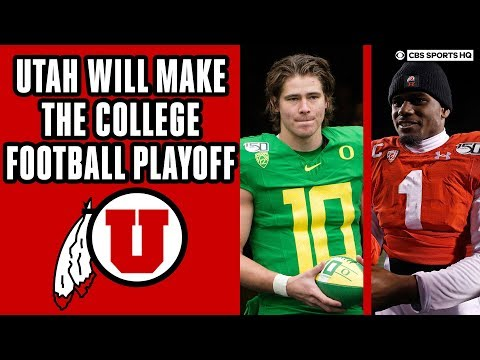 Utah WILL MAKE CFP After Win Vs Oregon | 2019 Pac-12 Championship Preview | CBS Sports HQ