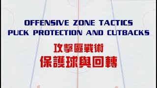 Ice Hockey Offensive Zone Strategy   Puck Protection and Cutbacks