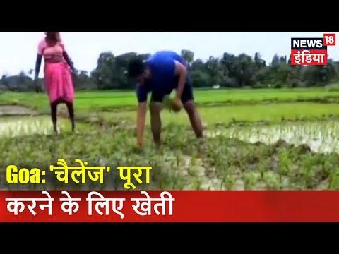 Goa: `चैलेंज` पूरा करने के लिए खेती | मंत्री की खेती | मुद्दा गरम है