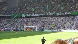 Hammarby - AIK 20 Maj 2018. Klacken, Straffen, Spelarna tackar