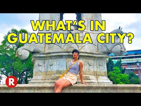 Guatemala City Walking Tour // Vivid Roots & Hopscotch the Globe Guatemala Volunteer Trip