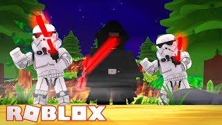 LE DERNIER JEDI KYLO REN VS LUKE SKYWALKER! Star Wars le dernier Jedi Roblox Battlefront 2!