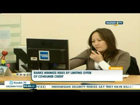 Banks minimize risks by limiting offer of consumer credit - Kazakh TV