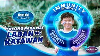 BONAKID PRE-SCHOOL® 3+! Tulong para may Laban ng Katawan!