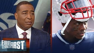 Cris Carter's Emotional Reaction To Josh Gordon Leaving Football | Nfl | First Things First