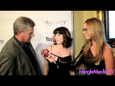 Sam McMurray & Julie Ann Emery of Then We Got Help at the IAWTV Awards 2012