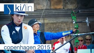Ki v Lin – Recurve Women's Gold Final | Copenhagen 2015