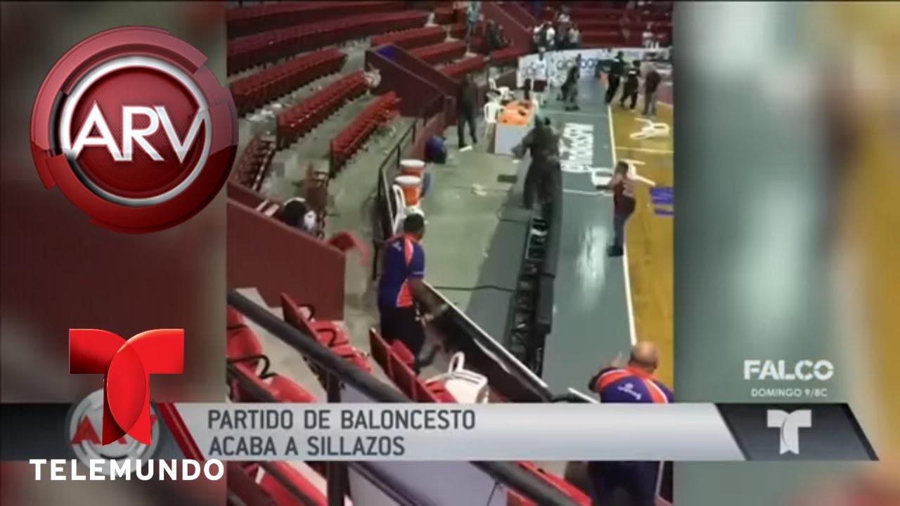 partido-de-baloncesto-termin-a-sillazos-al-rojo-vivo-telemundo