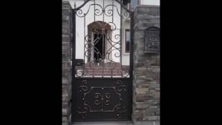 видео Кованые калитки
