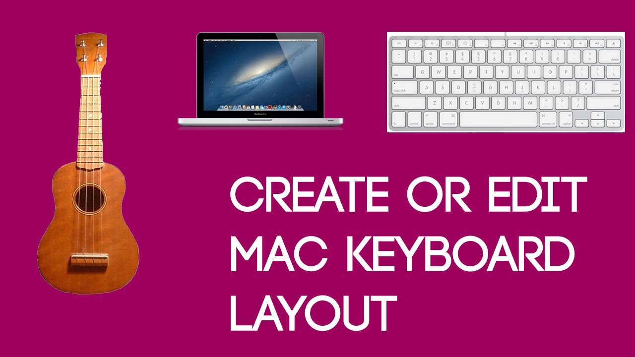 Mac Tutorials [16] - Create Or Edit The Keyboard Layout Of Mac