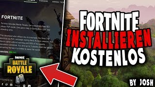 Fortnite installieren PC deutsch|Fortnite herunterladen|Fortnite installieren Tutorial|