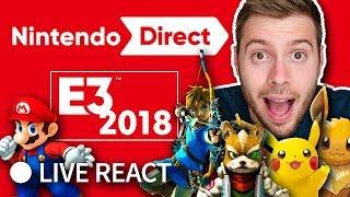 NINTENDO CONFERENCE E3 2018 - Live Reaction depuis Los-Angeles