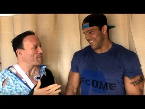 Bostin Loyd Visits Dave Palumbo at the Hospital!