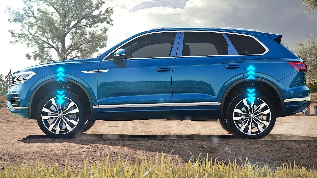 volkswagen touareg 2019 technological features youtube. Black Bedroom Furniture Sets. Home Design Ideas