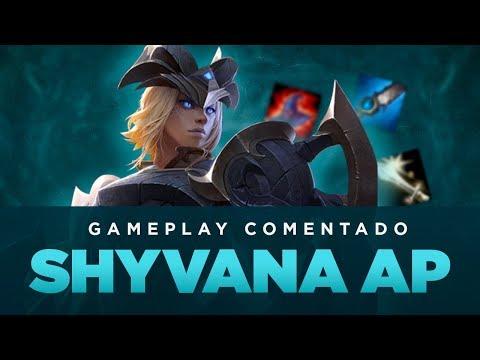GAMEPLAY COMENTADO - SHYVANA AP JUNGLE!