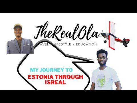My journey to Estonia through Isreal
