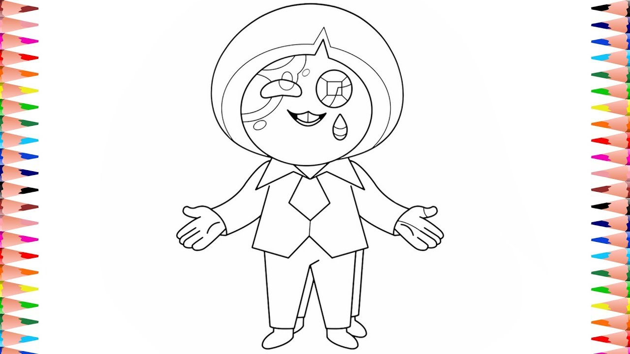 Digitally Coloring Steven Universe Future Bluebird Azurite (No Wings)  Coloring Pages Color Art