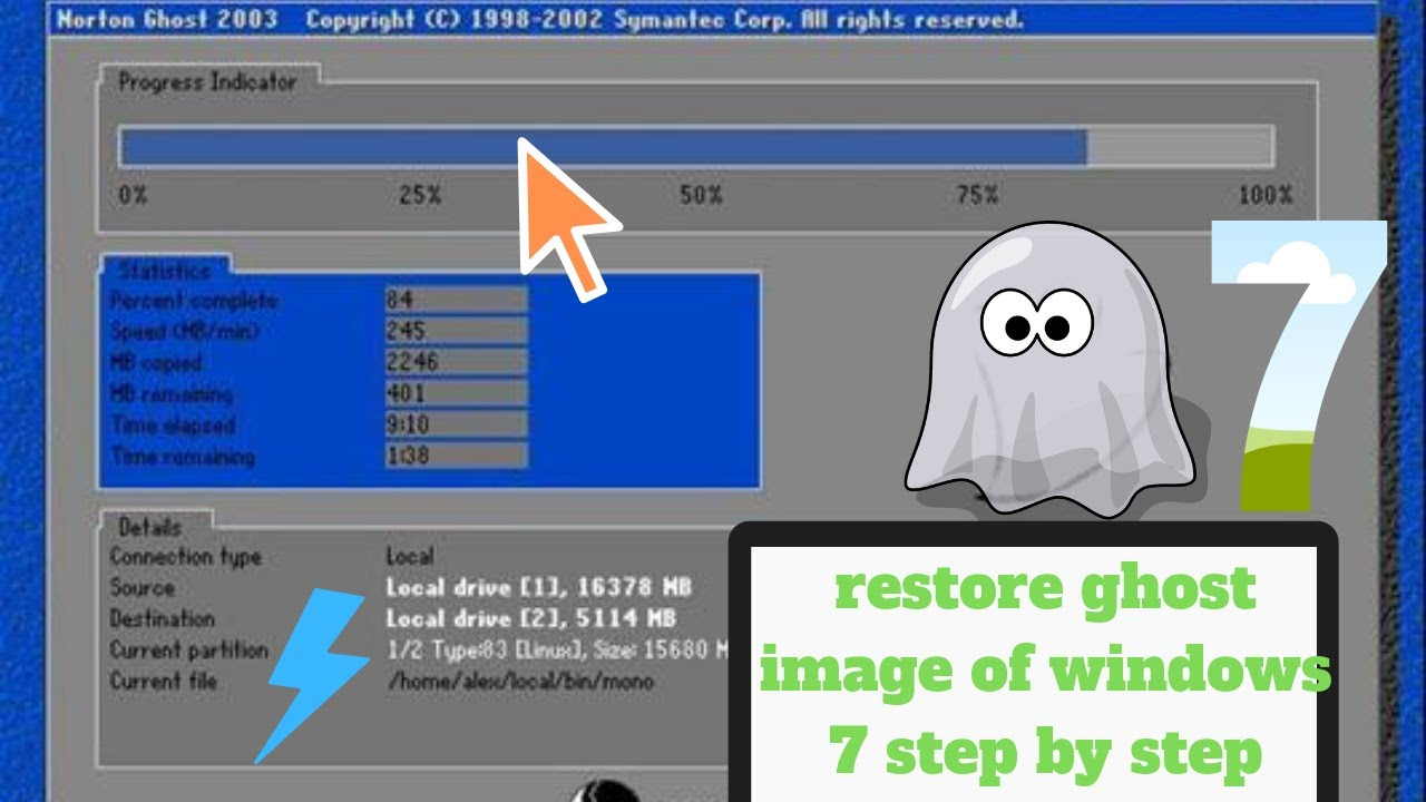 Cách Khôi Phục Máy Tính Của Bạn Từ Norton Ghost Image - HUY AN PHÁT