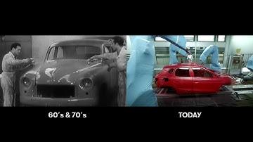Näin autojen valmistus on muuttunut: 50 vuotta 60 sekunnissa