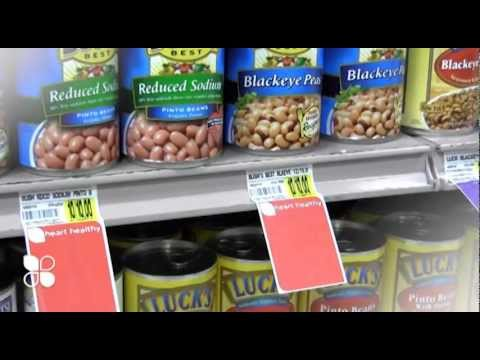 Nutritional Shelf Tags - Belle Foods