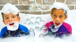 Bath Song I   Official Video from Kids Learning Songs
