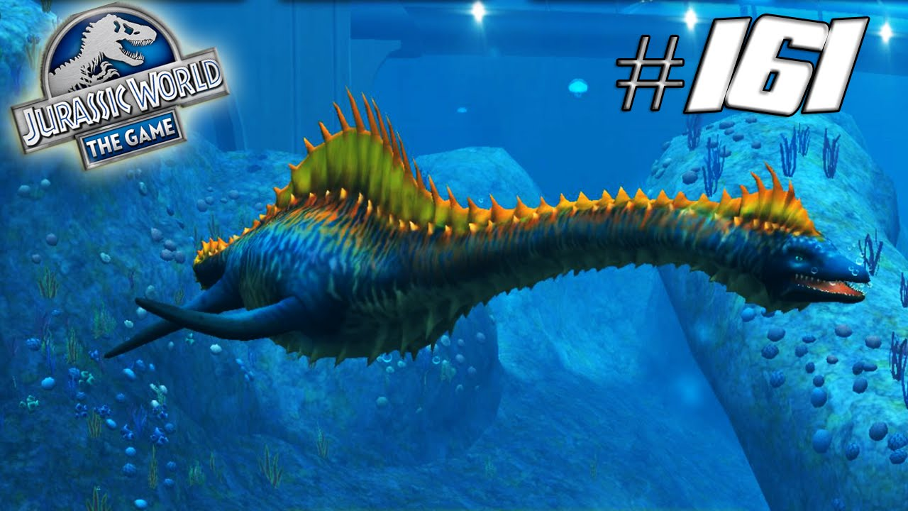 LvL 40 Plesiosaurus - Jurassic World The Game #161 - YouTube