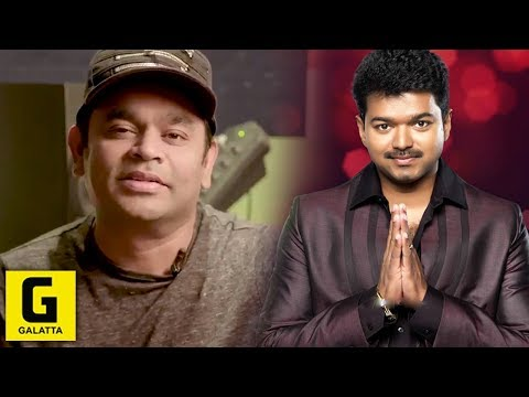 A.R Thanks Vijay And Mersal Team | Atlee | Thenandal films | Film Fare Awards
