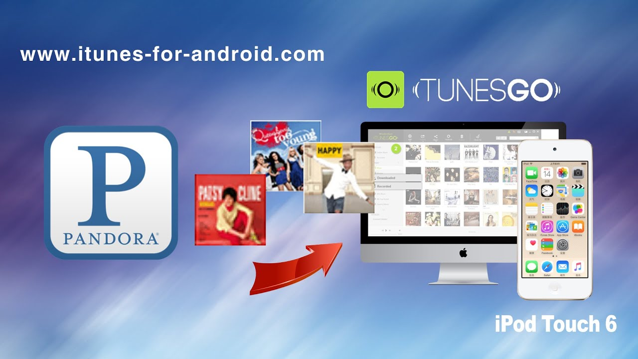 Pandora's ios revamp launches with thumb history, new mini player.