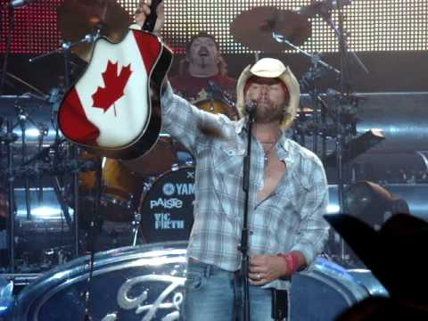 Toby Keith 2008 Live Canada