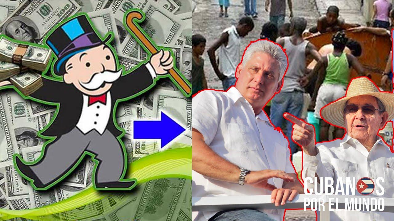 En medio de la miseria que vive el pueblo cubano el régimen solo piensa en los dólares