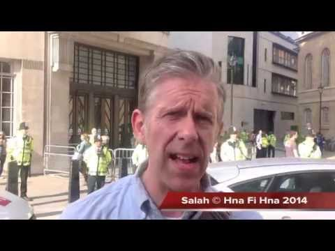 Free Free,  Palestine Thousands  protest alleged BBC Israeli bias over Palestine 15 07 2014