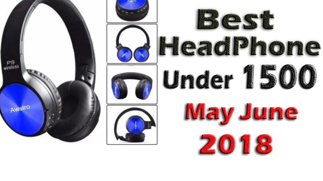 Best Wireless Bluetooth Headphones Under 1500 In India 2018 Geeknocent Youtube