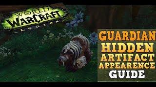 How to get the Guardian Druid Hidden Artifact Skin - WoW Legion