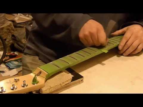Guitar Fret Leveling Why and How - Part 2 of 2