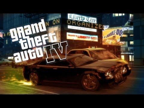 GTA IV в компании друзей Безумный Liberty City