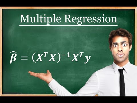 Linear Regression and Multiple Regression