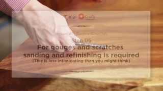 Teak Root Furniture Repair