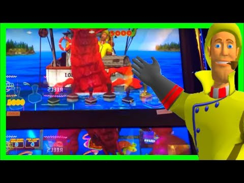 Holy Crap What S That Big Lobster Worth Lucky Larry Lobstermania 3 Slot Machine Youtube