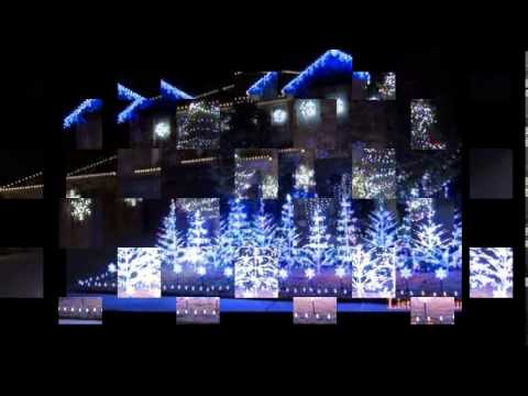 Frozen Christmas Lights (Let It Go) 2014 full - YouTube