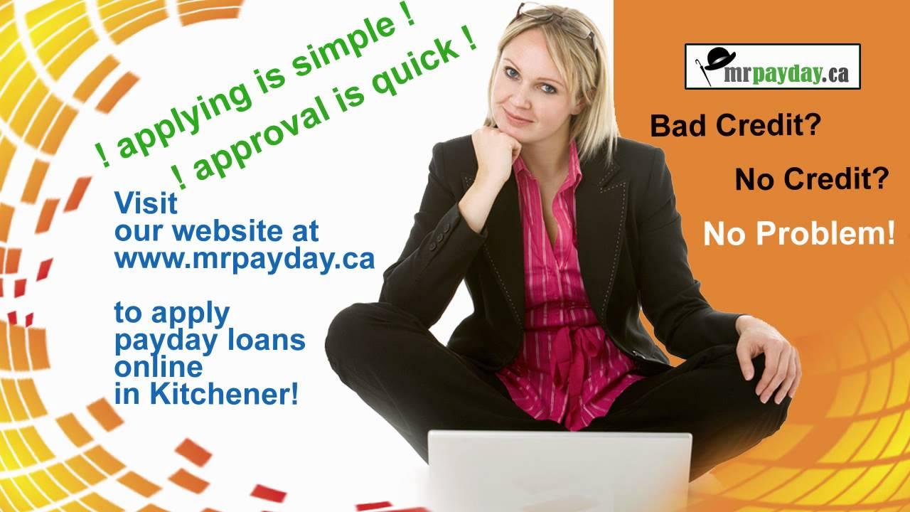Payday Loans Kitchener - YouTube