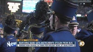 Kansas High School Band Has Instruments Stolen In San Diego