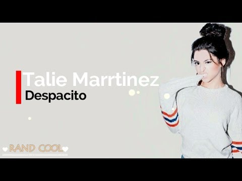 DESPACITO   Luis Fonsi & Daddy Yankee ft  Justin Bieber    Talia Martinez Cover Lyrics