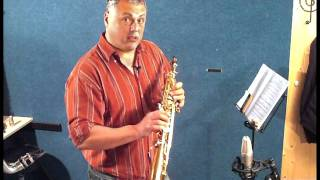JP043 soprano saxophone demonstration by Pete Long - John Packer Ltd