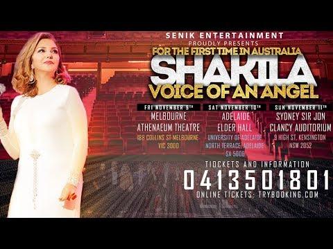 Persian Concert In Australia 2018 SHAKILA Melbourne, در ملبورن کنسرتهای ایرانی در استرالیا ۲۰۱۸